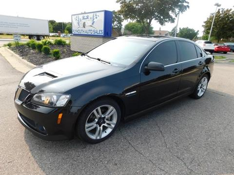 2009 Pontiac G8 for sale in Plymouth, MI