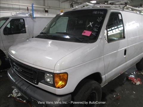 2007 Ford E-Series Cargo for sale in Blauvelt, NY