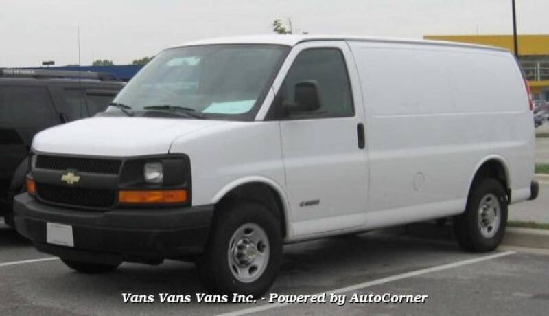 2005 Chevrolet Express Cargo 1500 3dr Van - Blauvelt NY