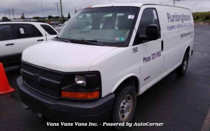 2005 Chevrolet Express Cargo 2500 3dr Van - Blauvelt NY