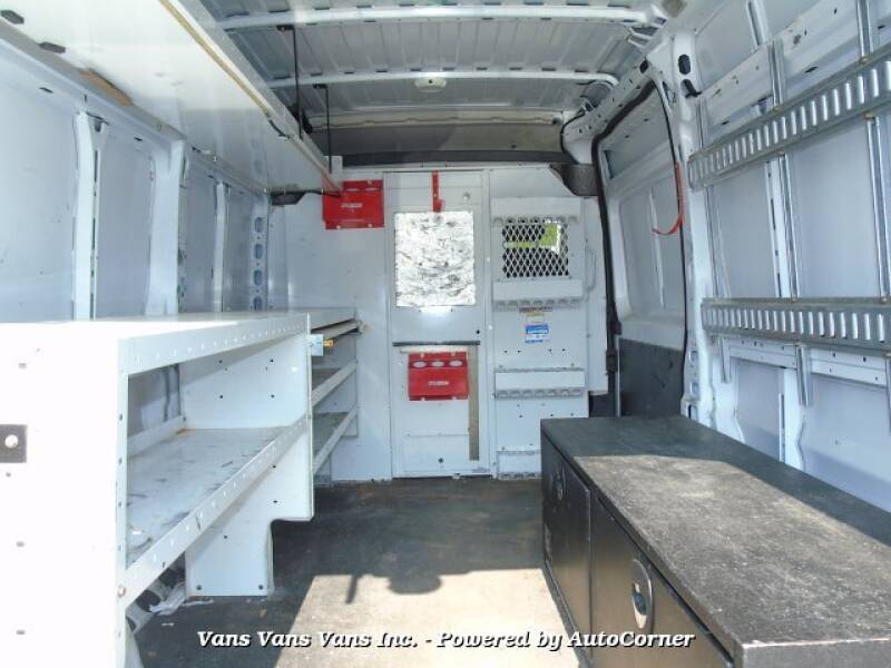 2017 RAM ProMaster Cargo 2500 159 WB 3dr High Roof Cargo Van - Blauvelt NY