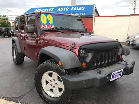 2009 Jeep Wrangler Unlimited for sale in Joliet, IL