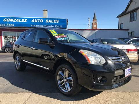 2011 Nissan Rogue for sale at Gonzalez Auto Sales in Joliet IL