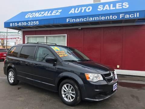 2014 Dodge Grand Caravan for sale at Gonzalez Auto Sales in Joliet IL