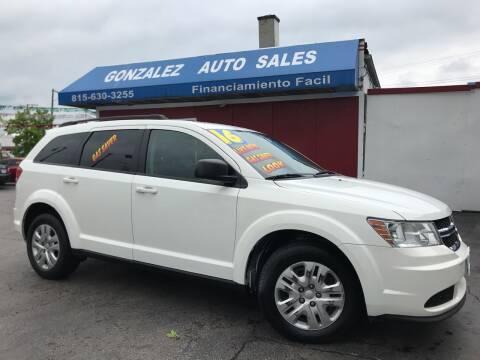 2016 Dodge Journey for sale at Gonzalez Auto Sales in Joliet IL