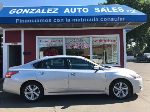2015 Nissan Altima for sale at Gonzalez Auto Sales in Joliet IL