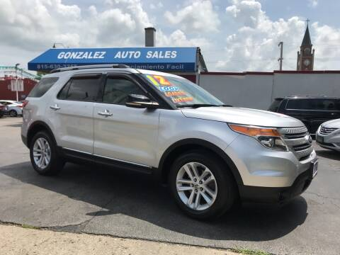 2011 Ford Explorer for sale at Gonzalez Auto Sales in Joliet IL