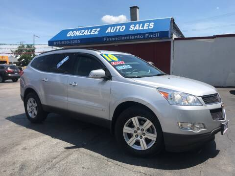 2010 Chevrolet Traverse for sale at Gonzalez Auto Sales in Joliet IL