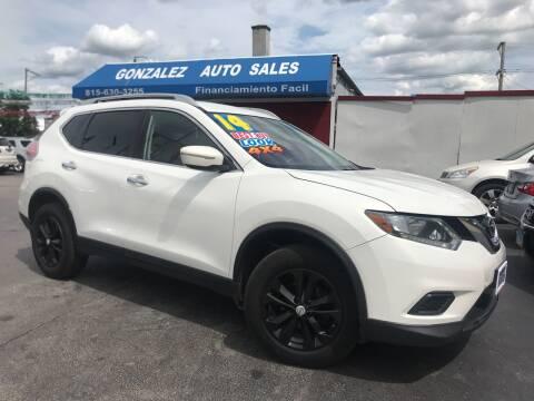 2014 Nissan Rogue for sale at Gonzalez Auto Sales in Joliet IL