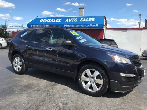 2015 Chevrolet Traverse for sale at Gonzalez Auto Sales in Joliet IL