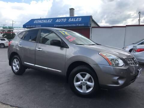 2012 Nissan Rogue for sale at Gonzalez Auto Sales in Joliet IL