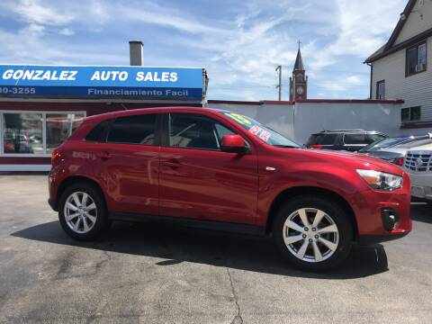 2013 Mitsubishi Outlander Sport for sale at Gonzalez Auto Sales in Joliet IL