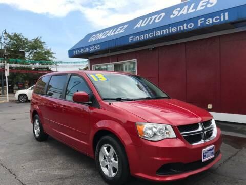 2013 Dodge Grand Caravan for sale at Gonzalez Auto Sales in Joliet IL