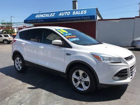 2014 Ford Escape for sale at Gonzalez Auto Sales in Joliet IL