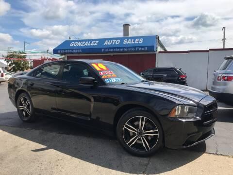 2014 Dodge Charger for sale at Gonzalez Auto Sales in Joliet IL