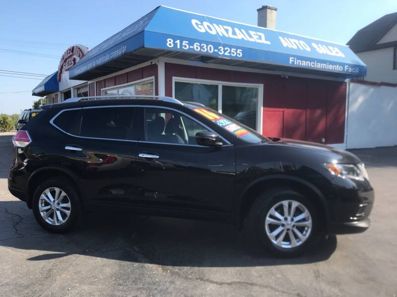 2016 Nissan Rogue for sale at Gonzalez Auto Sales in Joliet IL