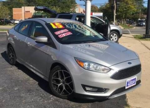 2015 Ford Focus for sale at Gonzalez Auto Sales in Joliet IL