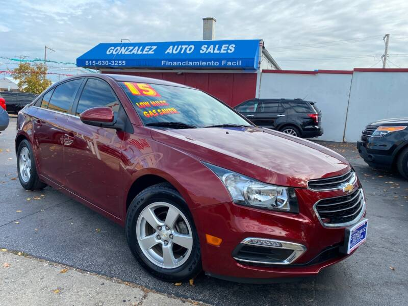 2015 Chevrolet Cruze for sale at Gonzalez Auto Sales in Joliet IL