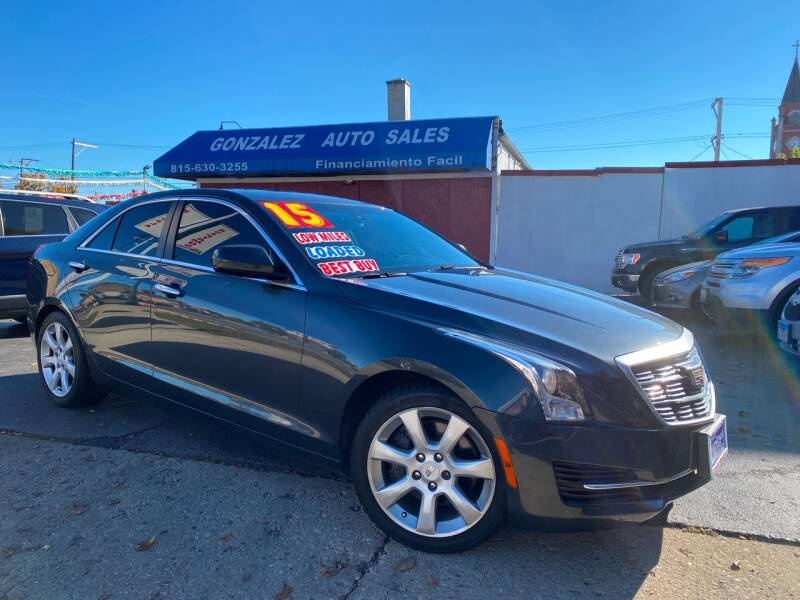 2015 Cadillac ATS for sale at Gonzalez Auto Sales in Joliet IL