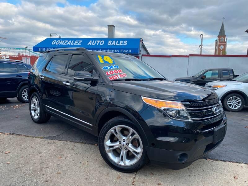 2014 Ford Explorer for sale at Gonzalez Auto Sales in Joliet IL