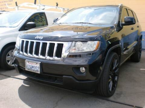 2012 Jeep Grand Cherokee for sale at Williams Auto Mart Inc in Pacoima CA