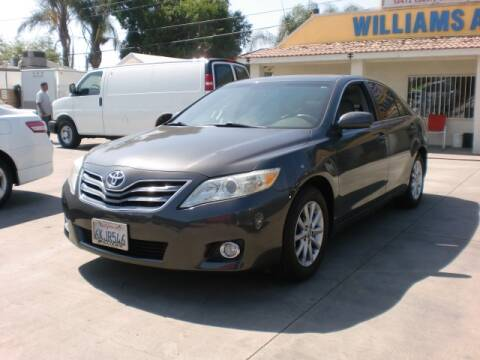 2010 Toyota Camry for sale at Williams Auto Mart Inc in Pacoima CA