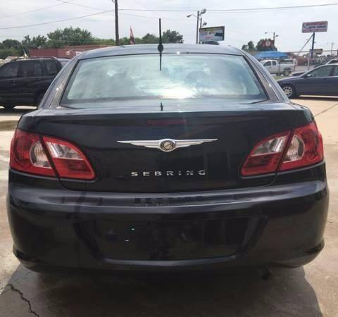 2007 Chrysler Sebring 4dr Sedan - Oklahoma City OK
