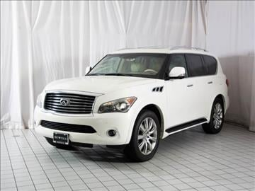 2012 Infiniti QX56 for sale in Houston, TX