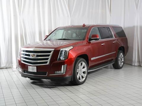 2017 Cadillac Escalade ESV for sale in Houston, TX