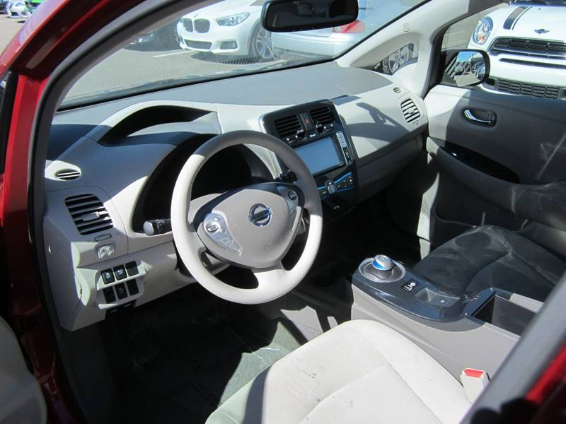 2011 Nissan LEAF for sale at Mag Auto Group in Hayward CA