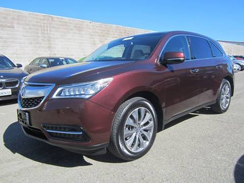 2014 Acura MDX for sale at Mag Auto Group in Hayward CA