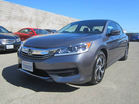2017 Honda Accord for sale at Mag Auto Group in Hayward CA