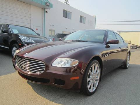 2006 Maserati Quattroporte for sale at Mag Auto Group in Hayward CA