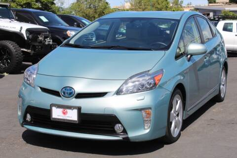 2012 Toyota Prius for sale at Mag Motor Company in Walnut Creek CA