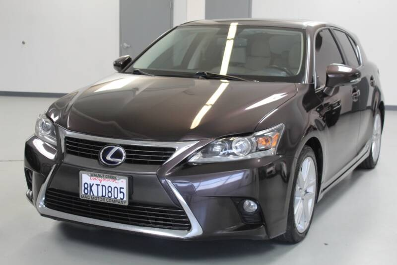 2016 Lexus CT 200h for sale at Mag Motor Company in Walnut Creek CA