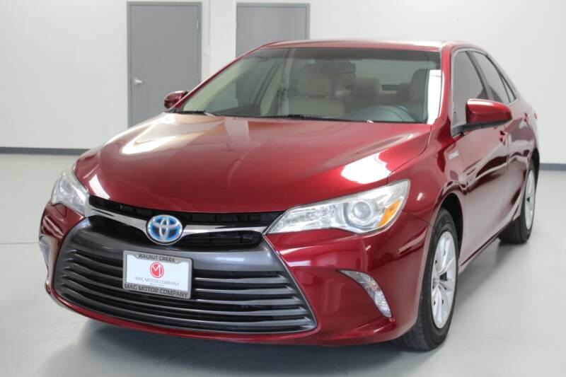 2016 Toyota Camry Hybrid for sale at Mag Motor Company in Walnut Creek CA