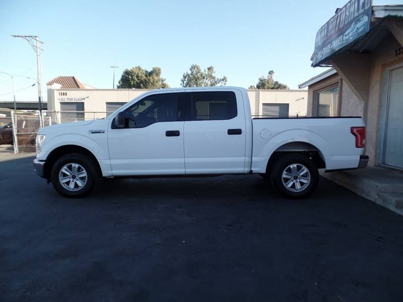 2016 Ford F-150 4x2 XLT 4dr SuperCrew 5.5 ft. SB - El Cajon CA