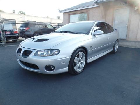 2006 Pontiac GTO for sale in El Cajon, CA