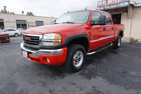 2004 GMC Sierra 2500HD for sale in El Cajon, CA