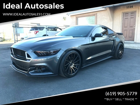Used 2015 Mustang Gt >> 2015 Ford Mustang For Sale In El Cajon Ca