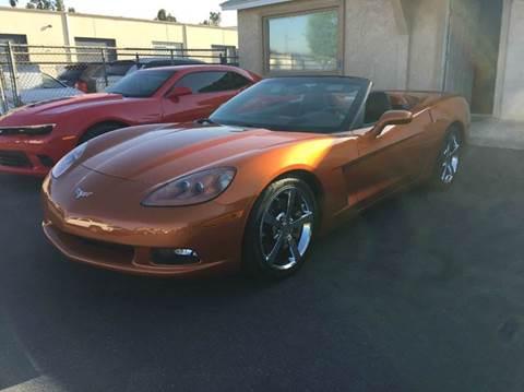 2009 Chevrolet Corvette for sale at Ideal Autosales in El Cajon CA
