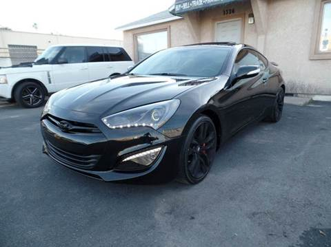 2015 Hyundai Genesis Coupe for sale at Ideal Autosales in El Cajon CA