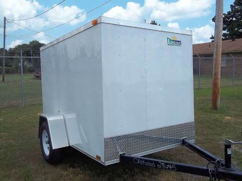 2015 Arising Enclosed Trailer 58SSRW 5' x 8' for sale in Austin, AR