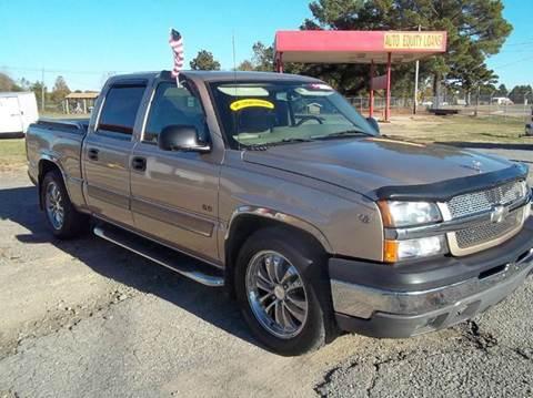 2004 Chevrolet Silverado 1500 for sale in Austin, AR