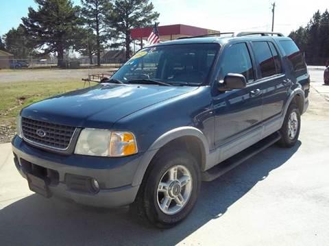 2002 Ford Explorer for sale in Austin, AR