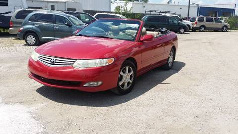2002 Toyota Camry Solara for sale in Plainfield, IL
