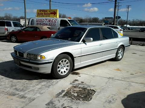 2001 BMW 7 Series For Sale In Plainfield IL