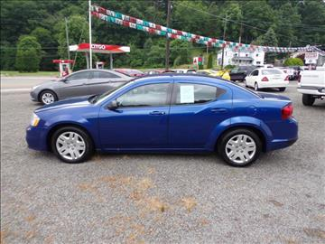 2013 Dodge Avenger for sale at RJ McGlynn Auto Exchange in West Nanticoke PA