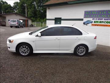 2014 Mitsubishi Lancer for sale at RJ McGlynn Auto Exchange in West Nanticoke PA