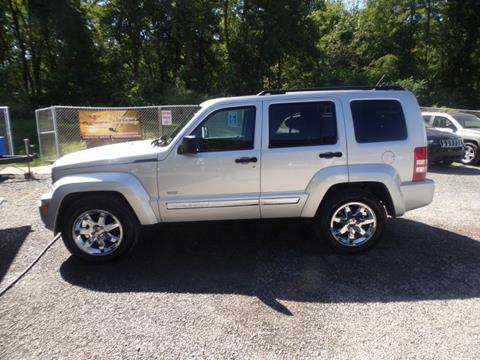 2012 Jeep Liberty for sale at RJ McGlynn Auto Exchange in West Nanticoke PA